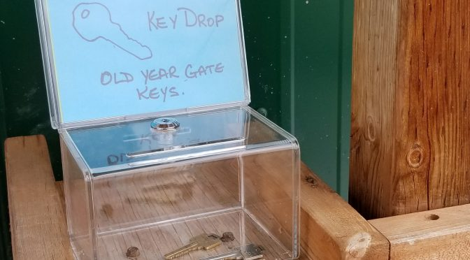 Returning  Gate Keys